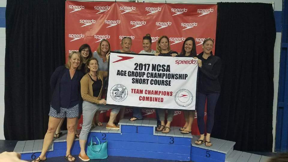 NCSA AGC swim moms