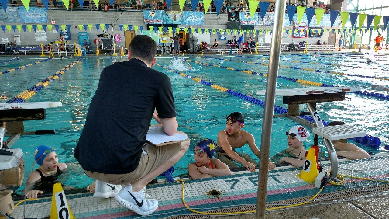 FISH Coach Matt Pelletier with his crew